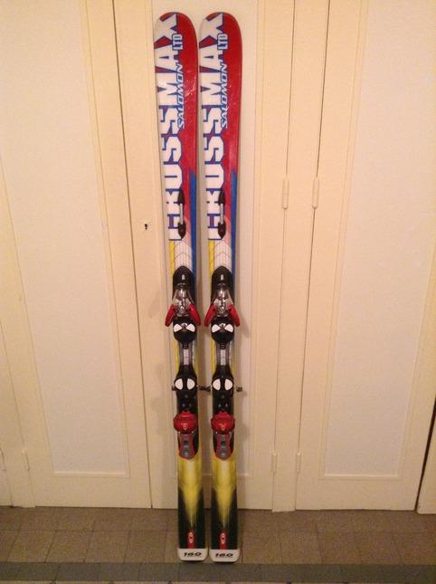 skis salomon crossmax