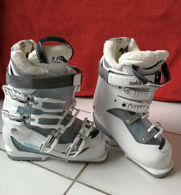 Femme Vends Neuves Chaussures Ski Salomon De Comme Wqzvqi