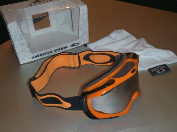 Masque Oakley Orange