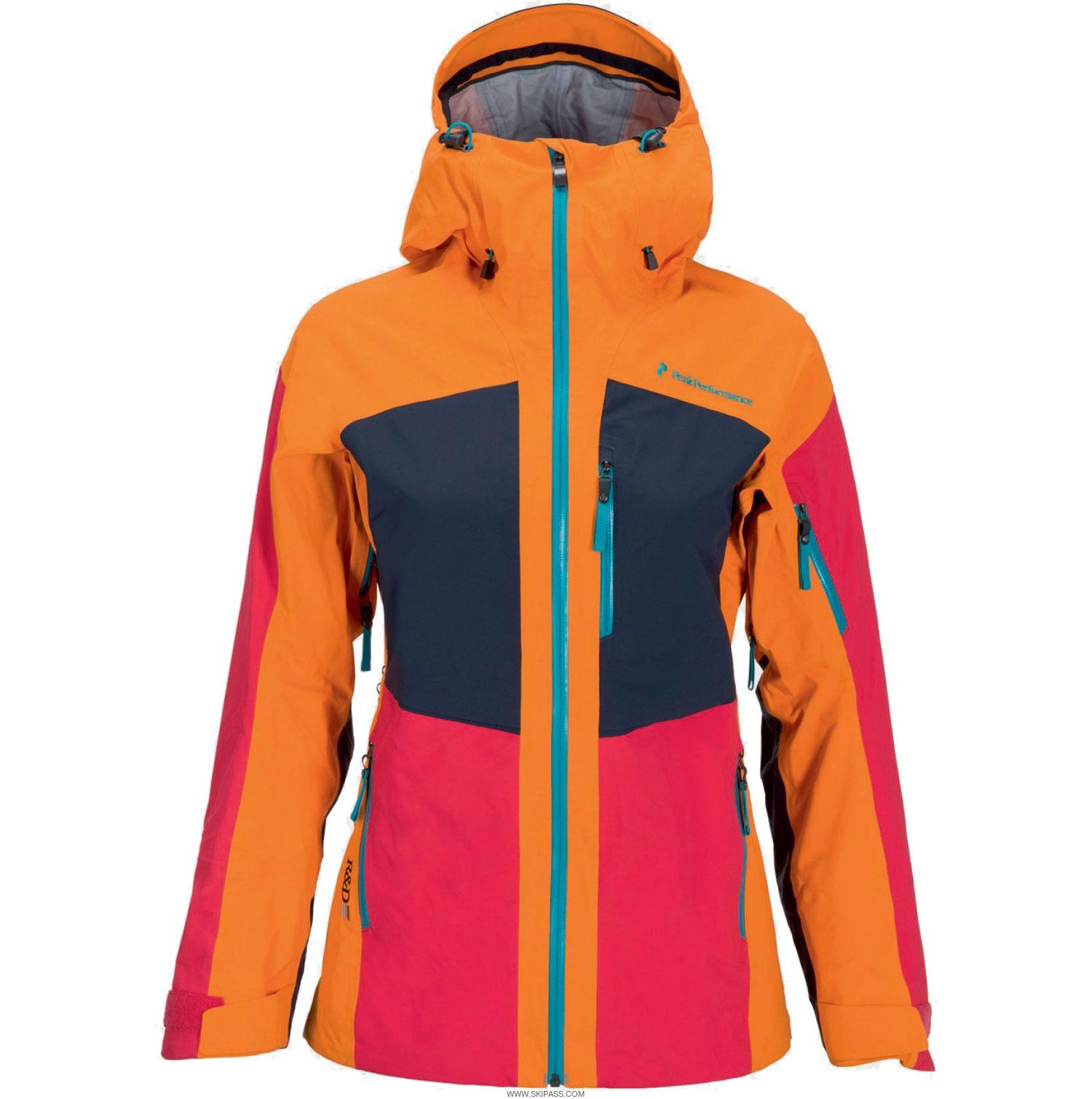 Veste ski femme peak performance