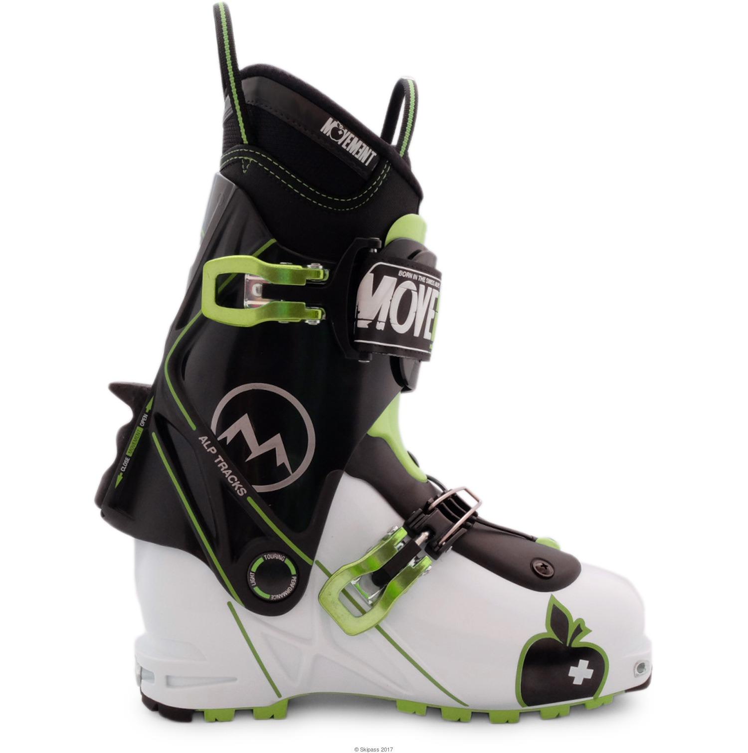 Movement Chaussures Ski Rando  Alptracks Explorer White Blanc - Livraison Gratuite avec - Chaussures Ski Homme