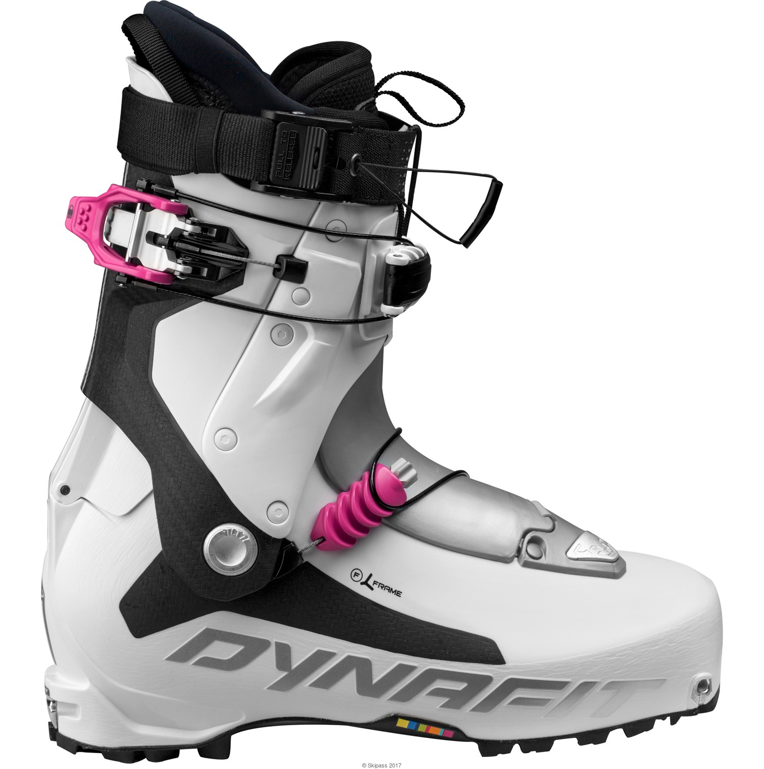 Dynafit Chaussures TLT7 Expedition CL WS White-Fuschia - Chaussures Ski