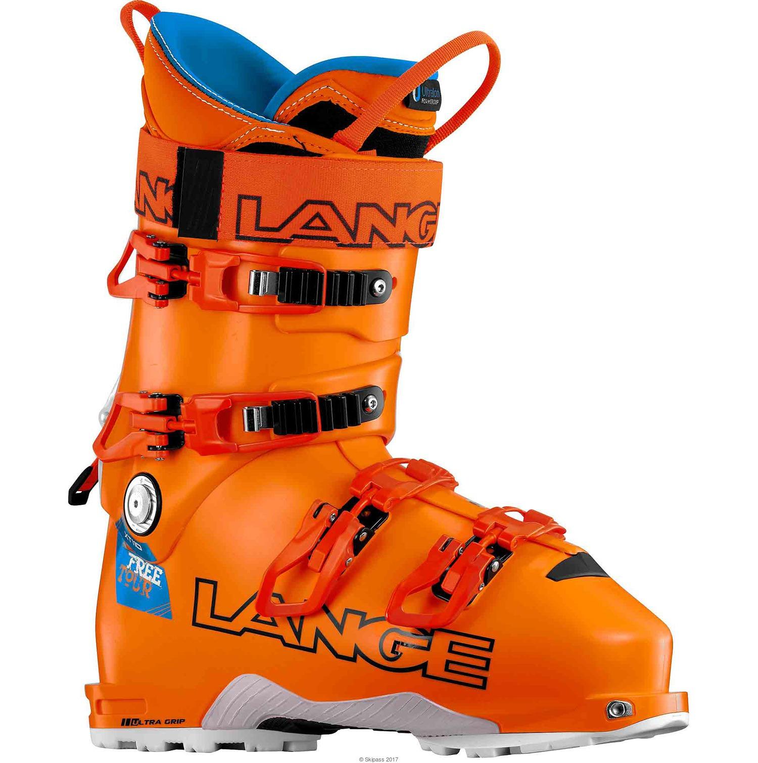 Lange Chaussures De Ski  Xt 110 Freetour Orange - Livraison Gratuite avec - Chaussures Ski Homme