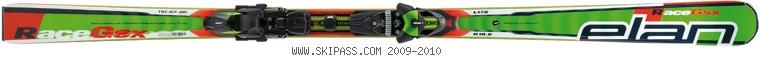 Elan GSX Waveflex Fusion 2010