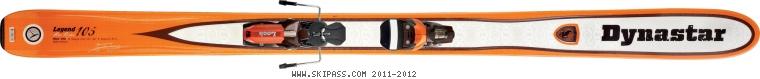 Dynastar Legend Pro Rider 105  2012