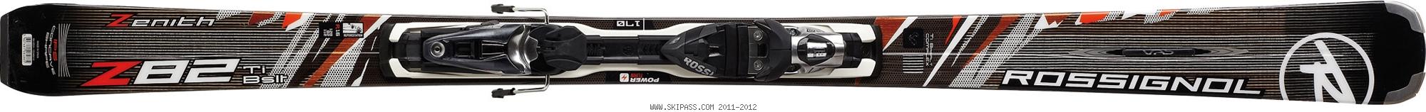 Rossignol Zenith Z82 Ti BASALT TPX