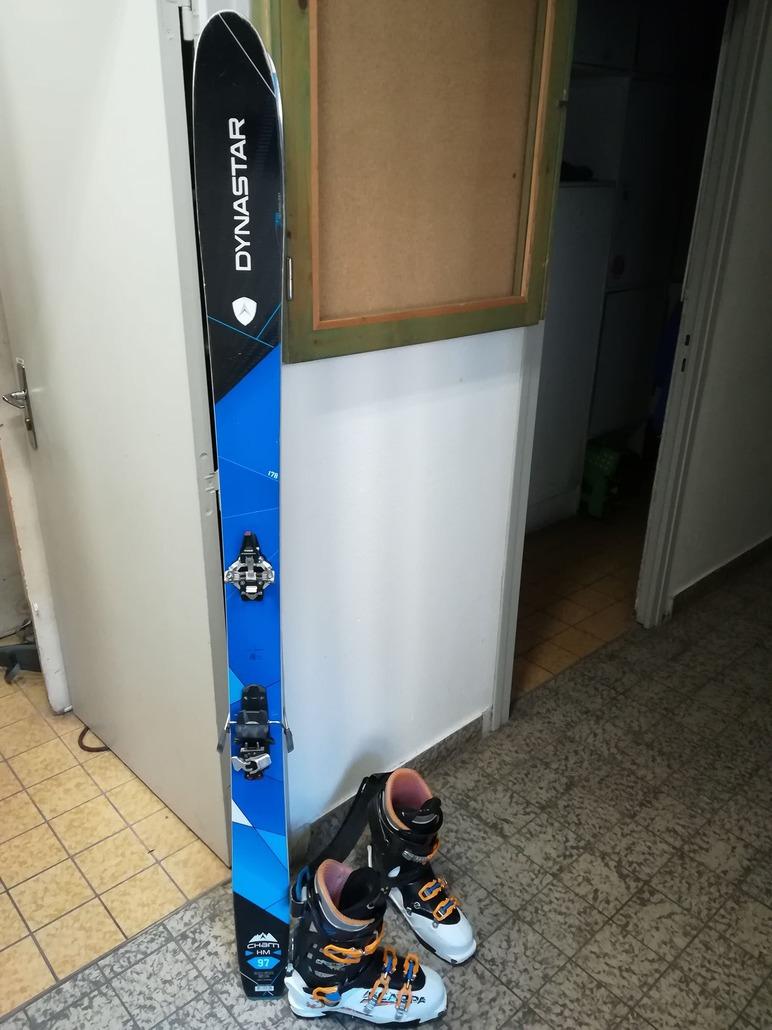 ski dynastar cham 87 de 2013 occasion