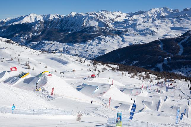 Top 5 de vos snowparks préférés