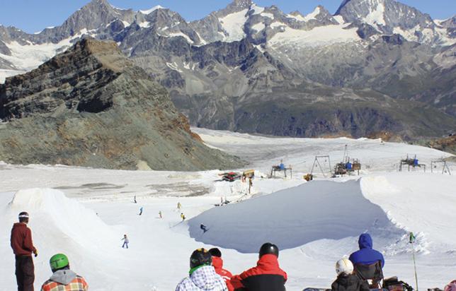 Où skier cet été en Europe ?