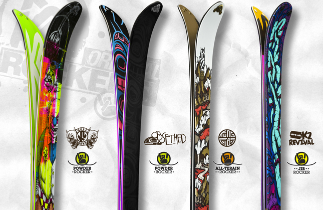 Dr Matos : le shape des skis