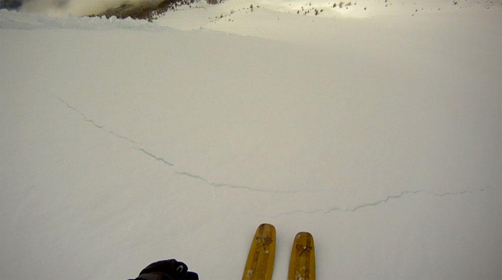 [Récit] Avalanche sous le Boussolenc versant NW, 18/12/2012