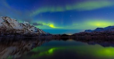 Skipass aux Lofoten : J1, Kvittinden et Aurores