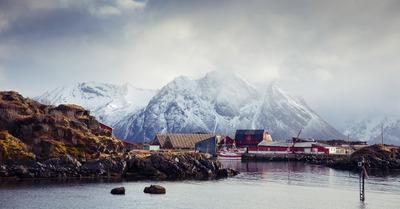 Skipass aux Lofoten : J4, la tempête