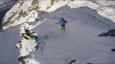 [récit] Pente raide de début d'hiver dans les Pyrénées