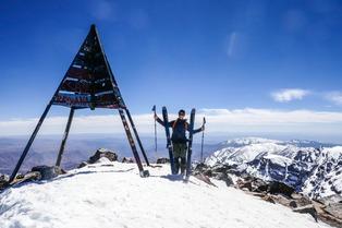 Kevin Guri : ski et surf au Maroc