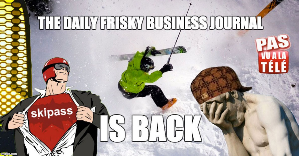 The daily frisky business journal #8