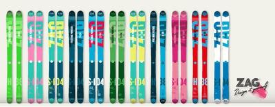 Personnalise tes skis avec ZAG