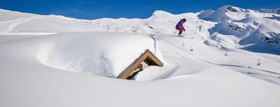Sous la neige, les stations