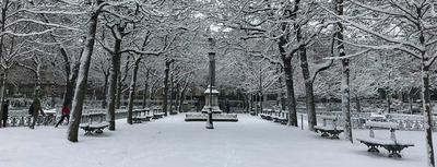 Quand il neige à Paris...