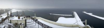 De la neige jusqu'à la mer