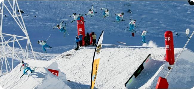 SFR Tour slopestyle Val Thorens