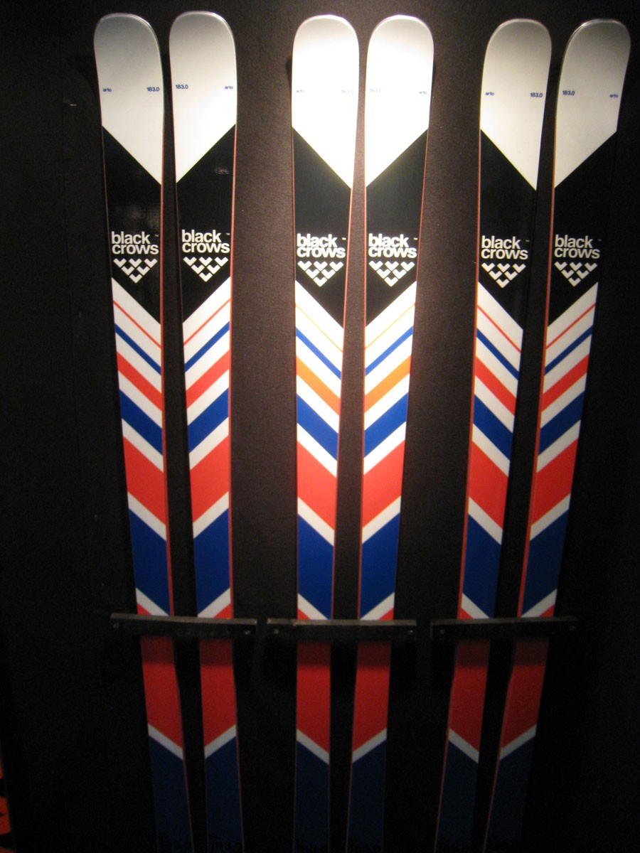 Les skis de piste Black Crows
