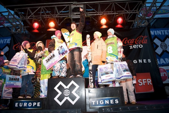 2010 Quicksilver Radar - X Games - Tignes