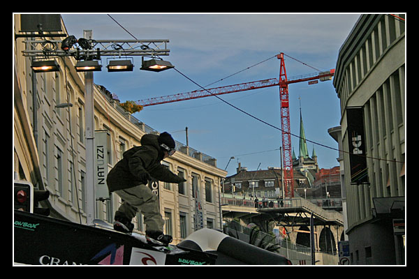 Lausanne Rail Session