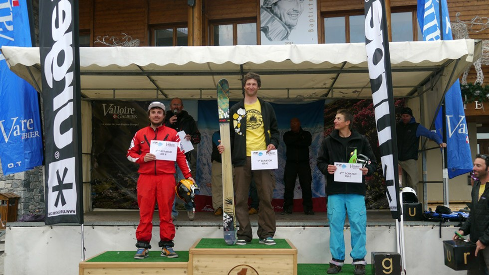 Le podium