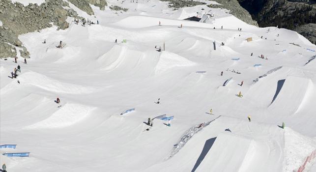 Ouverture des glaciers - ski d'été