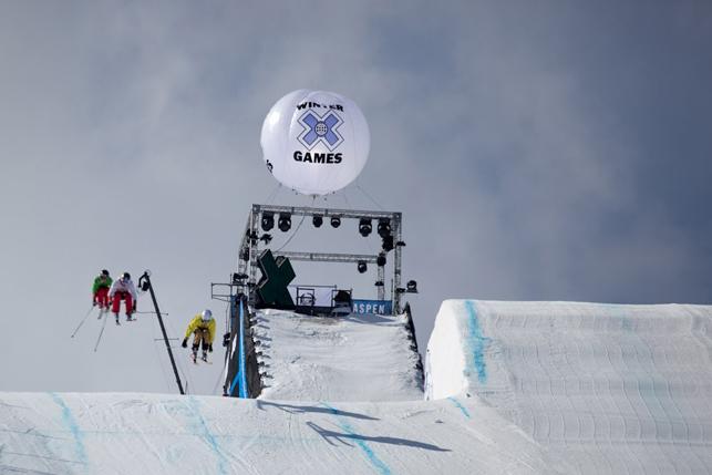 Fin du skicross aux X Games