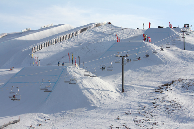 Henshaw, Tjader et Bonnaire sur le podium - Freeski Open of NZ