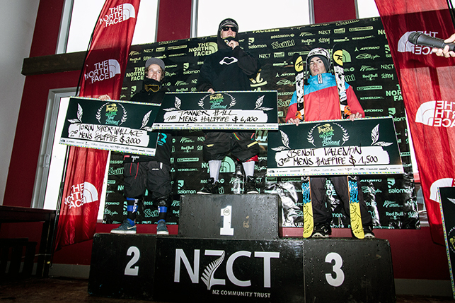 Tanner Hall, retour gagnant - Freeski Open of NZ