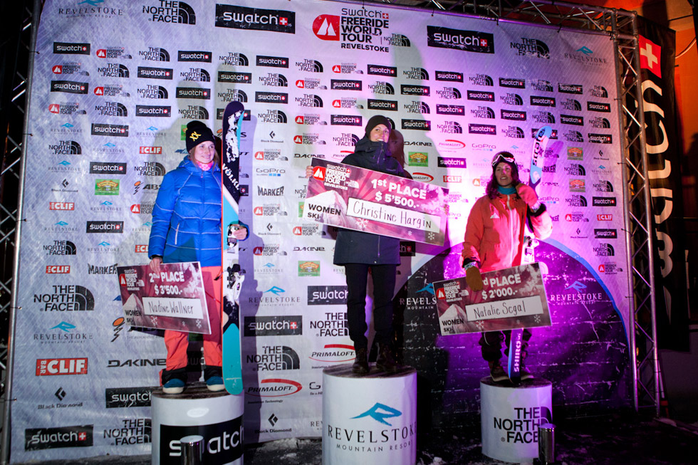 Podium ski femme