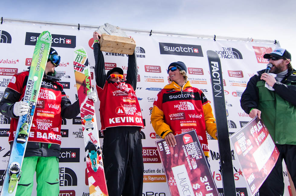 Podium ski hommes