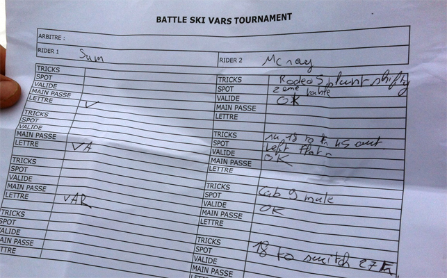 Intenses quarts de finale au Vars Tournament
