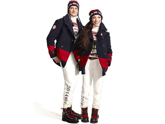 Les tenues officielles pour les JO de Sochi 2014