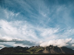 Montagnes Islandaise