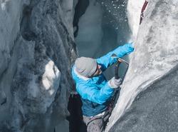 Iceclimbing | Glacier de Chavière