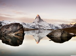 Matterhorn Sunset in Summer