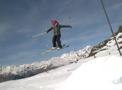 Snowpark Les Arcs
