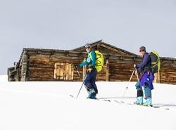 Gaelle et Anne Marie en direction du sommet !