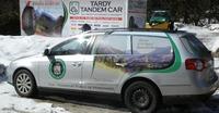 Tardy Tandem Car