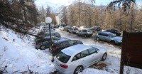 Parking de l'Epervière - Les Orres 1650