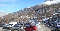 Parking de Terre Rouge - Les Orres 1800