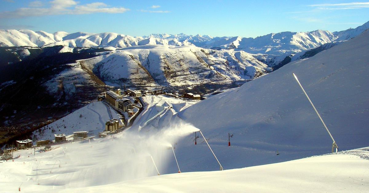 station de ski Saint Lary Soulan