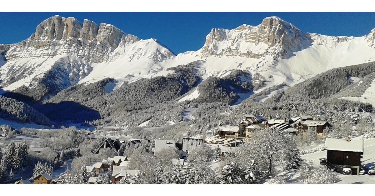 station de ski Gresse en Vercors