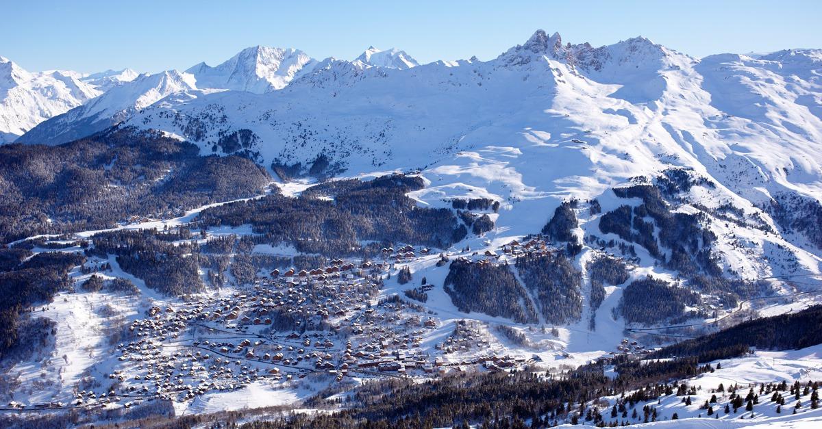 station de ski Méribel