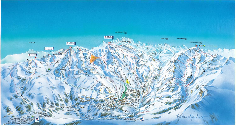 Hauteurs de neige et ouverture saint martin de belleville for Plan de belle villa