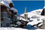 Le clocher de Val d'Isère